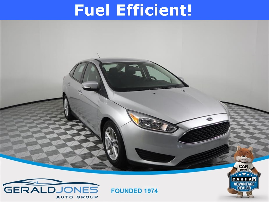 Gerald Jones Ford >> Pre Owned 2017 Ford Focus Se 4d Sedan In Augusta 86800 Gerald