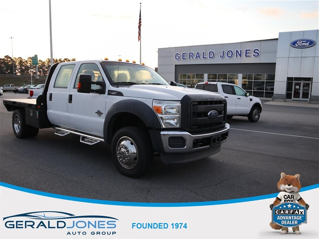 Pre-Owned 2014 Ford F-550SD XL